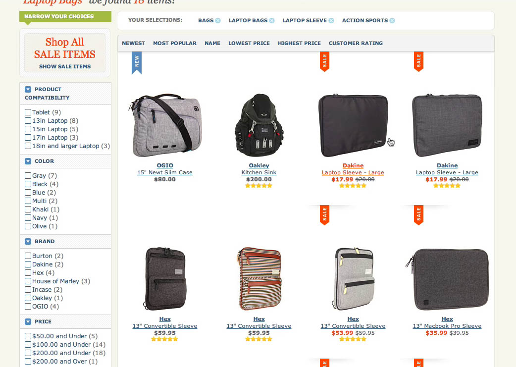 E-Commerce UX: What Information to Display in Product Listings (46% Get it Wrong)