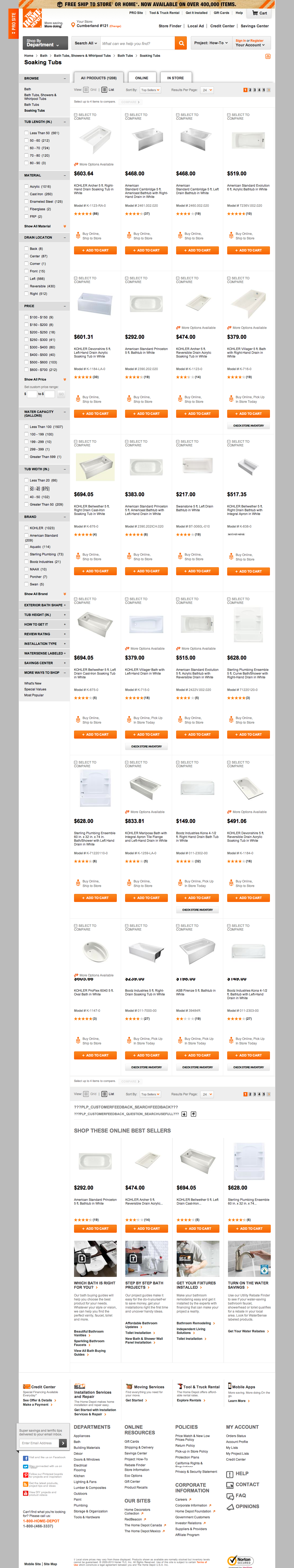 Home depot product list bing images for F home depot