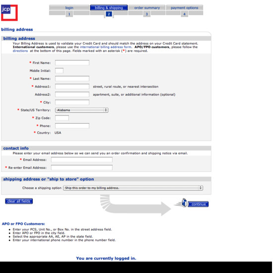 102 Examples Of Billing Address Checkout Steps Usability Benchmark E Commerce Checkout