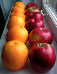 Comparing conversion rates between different sites is like comparing apples and oranges – it just doesn't make sense.