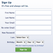 Facebook gets it right. They make sure your email address is correct above anything else.