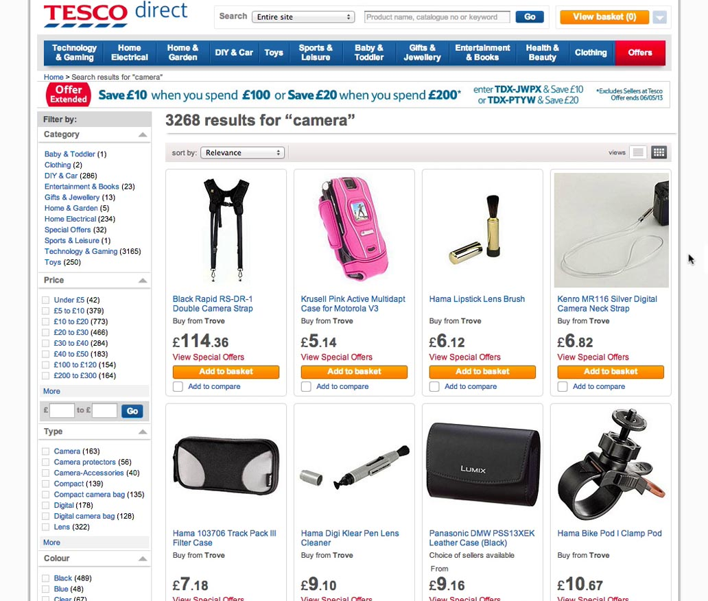 What are some of the types of electronic commerce how they are used today