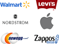 Affiliate yourself with other powerful brands by showing their logos on your site.