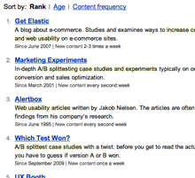 The top resources on usability and conversion rate optimization.