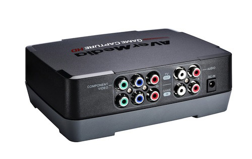 An image displaying all 11 plugs on this Game Capture device can help the user see whether the product is going to work with his gaming device. Image credit: AverMedia